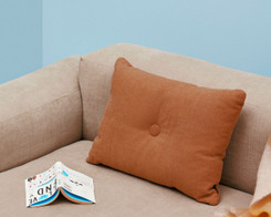 Hay - Dot cushion, orange (Ex-display)