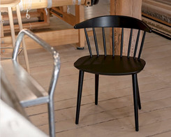 Hay - J104 chair  black (Ex-display)