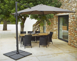 Cane-line - Hyde hanging parasol & base (Ex-display)
