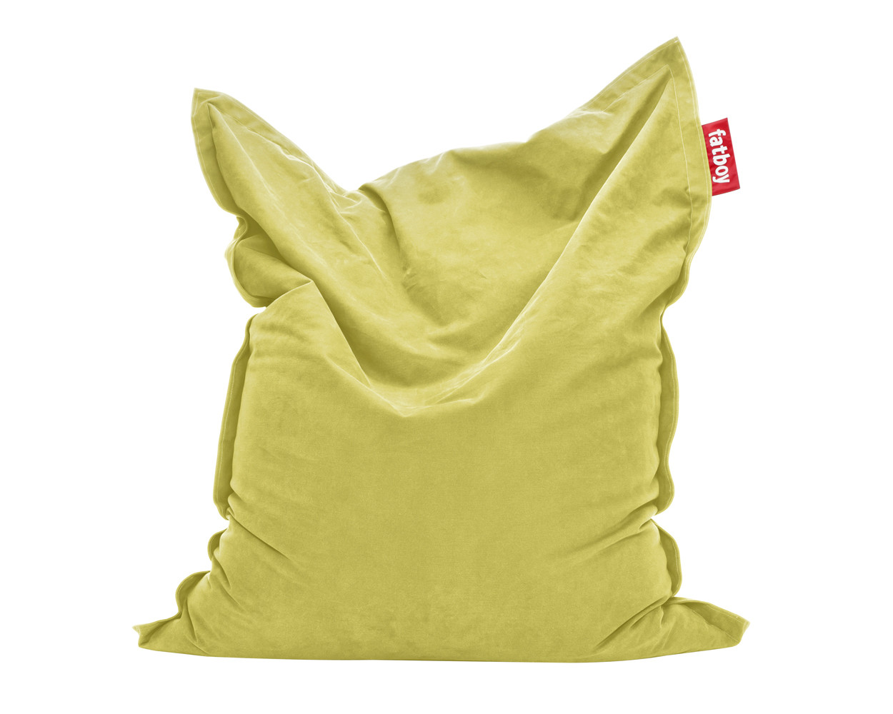 Yellow Fatboy The Original Bean Bag