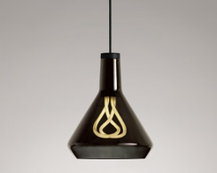 Plumen - Drop Top Lamp Shade Set Black with Plumen 001 LED Bulb