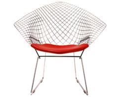 Knoll - Bertoia Diamond armchair