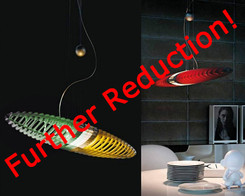 Luceplan - Titania suspension light with color filters