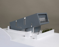 Model - The Leaning House