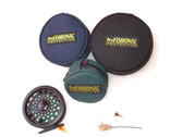 Fly Reel Covers front and rear view without reel