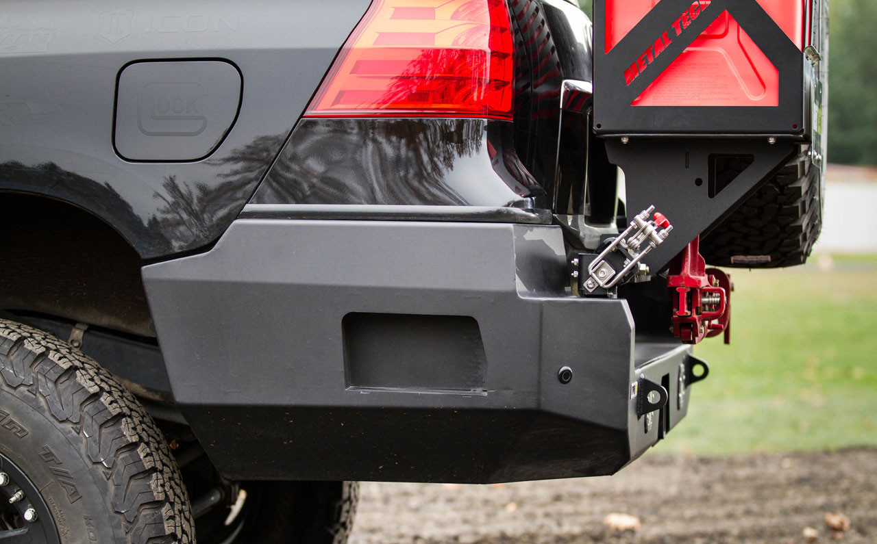 Metal Tech Lexus Gx460 Lancer Rear Swing Out Bumper 2010