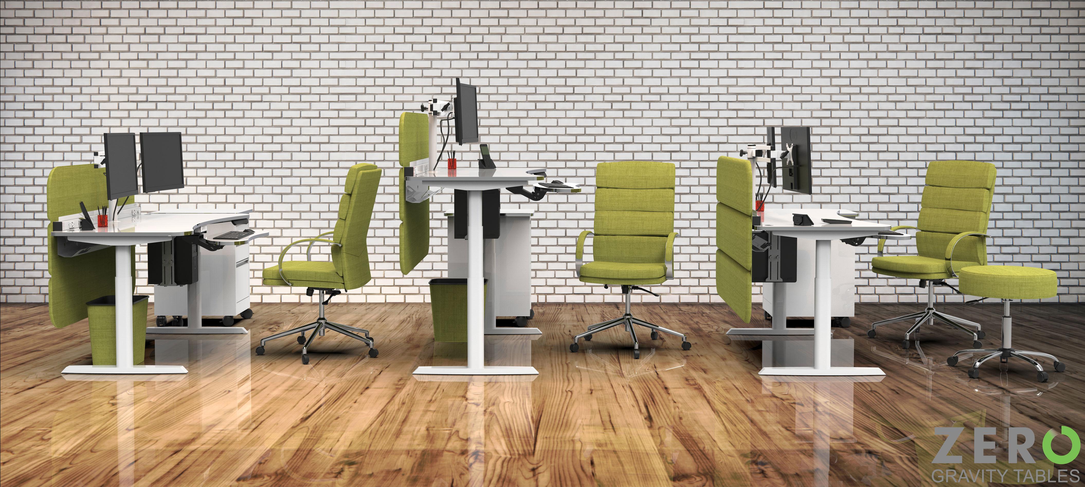 Futuristic fice Desk