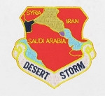 "Desert Storm - 3"" x 3"""