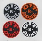 """Git R Done (COPY) cewgitrdone 3""""-2 red"""