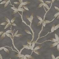 CP00702 - Capri Floral Black Taupe Sketchtwenty3 Wallpaper