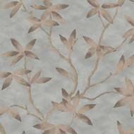 CP00704 - Capri Floral Blue Copper Sketchtwenty3 Wallpaper