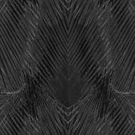 17005 - Roberto Cavalli 6 Kaleidoscope Motif Black Wallpaper