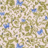 343256 - Versace Butterflies Bees Ladybirds Rose Blue AS Creation Wallpaper