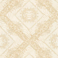 349044 - Versace Ornament Zebra Cream AS Creation Wallpaper