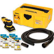 Mirka DEOS 383CV Solution Kit with 50 Abranet Sanding Pads 81 x 133mm