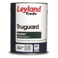5lt Leyland Pliolite All Weather Masonry Paint Brilliant White