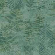 TP21261 - Passenger Leaf Pattern Green Galerie Wallpaper