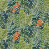 TPD21295 - Passenger Jungle Foliage Orange Green Galerie Mural