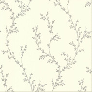 1601-103-01  - Rosemore Foliage Trail Cream 1838 Wallpaper