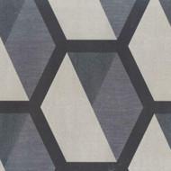 331219 - Charm Geometric Hexagonal Beige Grey Charcoal Eijffinger Wallpaper