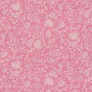 383541 - Rice  Flowers Leaf Sprigs Pink Eijffinger Wallpaper