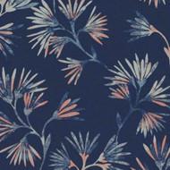 386542 - Enso Floral Blue Pink Eijffinger Wallpaper