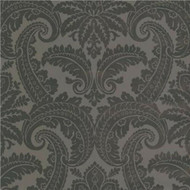 310804 - Club Floral Damask Grey Olive Green Eijffinger Wallpaper