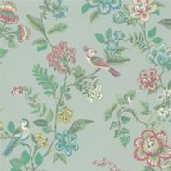 375061 - Pip Studio 4 Botanical Print Green Multicoloured Eijffinger Wallpaper