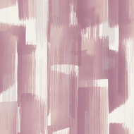 377004 - Stripes Wet Paint Effect White Dusky Pink Eijffinger Wallpaper