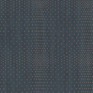 394512 - Topaz Plaid Dots Blue Eijffinger Wallpaper
