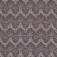 394525 - Topaz Chevron Stripes Purple Eijffinger Wallpaper
