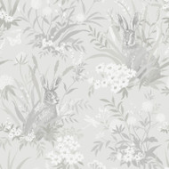 90812 - Patterdale Country Hares Grey Holden Decor Wallpaper