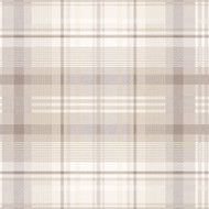 90830 - Patterdale Tartan Plaid Taupe Holden Decor Wallpaper