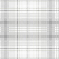 90833 - Patterdale Tartan Plaid Grey Holden Decor Wallpaper