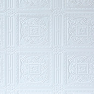 Anaglypta Classics Turner Tile Plain Textured Printable Wallpaper RD80000