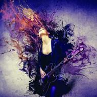 G45282 - Grunge Guitar Girl Multicoloured Galerie Wallpaper Mural
