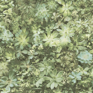 7320 - Evergreen Foliage Green Galerie Wallpaper