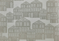 1907-137-01 - Elodie Illustrative Houses Ivory 1838 Wallpaper