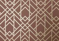 1907-140-04 - Elodie Geometric Symmetrical Lines Amber 1838 Wallpaper