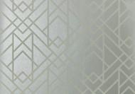 1907-140-05 - Elodie Geometric Symmetrical Lines Grey 1838 Wallpaper