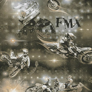 306562 - Boys & Girls Bikers Motorbikes Black Gold AS Creation Wallpaper