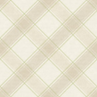 90743 - Whitcliffe Checked Plaid Beige Green Holden Wallpaper
