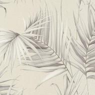 ES31133 - Escape Palm Trees Leaves Beige Galerie Wallpaper