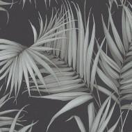 ES31134 - Escape Palm Trees Leaves Grey Galerie Wallpaper