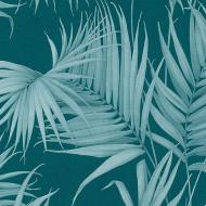 ES31136 - Escape Palm Trees Leaves Blue Galerie Wallpaper