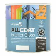 2.5Lt Zinsser Allcoat Solvent Based Exterior Gloss Black