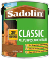 Sadolin Classic Wood Protection Wood Stain Antique Pine 1 Litre