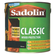 Sadolin Classic Wood Protection Wood Stain Ebony 1 Litre