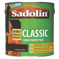 Sadolin Classic Wood Protection Wood Stain Jacobean Walnut 1 Litre