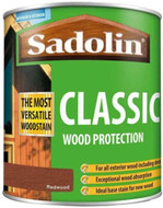 Sadolin Classic Wood Protection Wood Stain Redwood 1 Litre